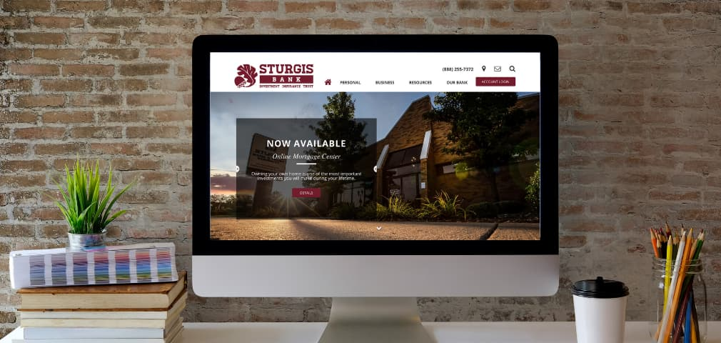 Sturgis Bank is Delighted to Launch Our New Website